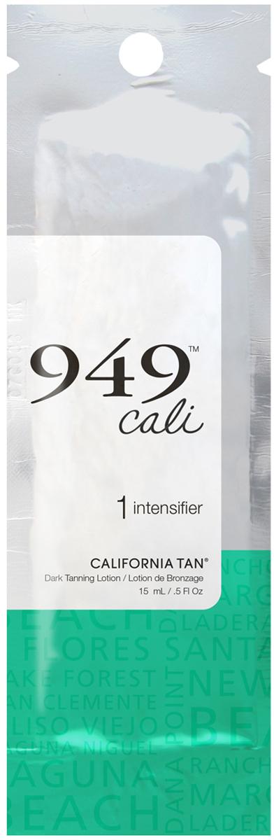 California Tan Крем для загара в солярии 949 Cali Intensifier Step 1, 15 млCT1200Лосьон-усилитель для загара без бронзаторов для светлой кожи. Шаг 1. Описание: Смесь Cali Collection™ содержит уникальную комбинацию компонентов, которая помогает коже выглядеть молодой и здоровой. Кожа увлажнена маслами Алоэ вера и Дерева Ши, что способствует интенсивной и длительной гидратации. Морская Соль питает кожу и чистит поры при помощи витаминов и минералов. Ускорьте загар и придайте коже шикарный золотой цвет с Vitatan®