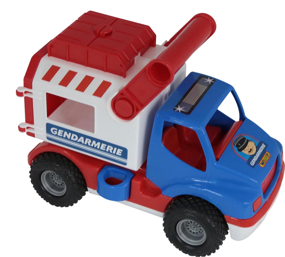 Полесье Автомобиль КонсТрак Жандармерия машины wader автомобиль констрак полиция