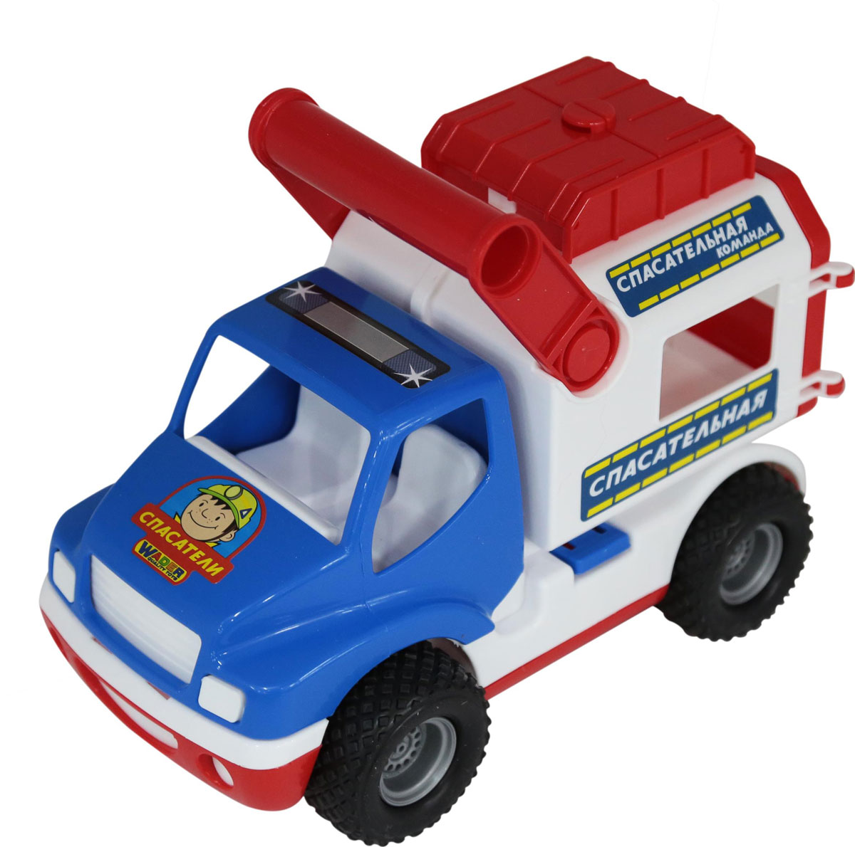 Полесье Автомобиль КонсТрак Спасательная команда полесье коммунальный автомобиль констрак