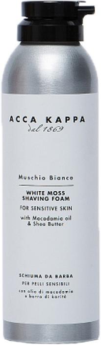 Acca Kappa Пена для бритья Белый Мускус 200 мл mandom пена для бритья и умывания gatsby сменная 130 г