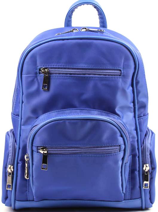 Рюкзак женский Медведково, цвет: синий. 17с4167-к14