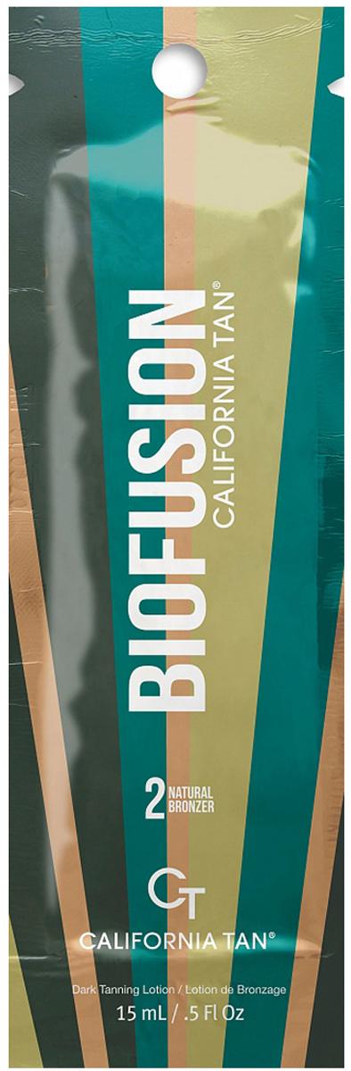 California Tan Крем для загара в солярии Biofusion Natural Bronzer Step 2, 15 млCT1182Крем для загара содержит натуральные бронзаторы. Отлично подойдет для всех типов кожи. Шаг 2.Описание:В результате применения придает загару красивый оттенок и здоровое сияние. Экстракт ванили и экстракт кокоса защищают кожу от фотостарения. Уникальная гелевая основа отлично увлажняет кожу.