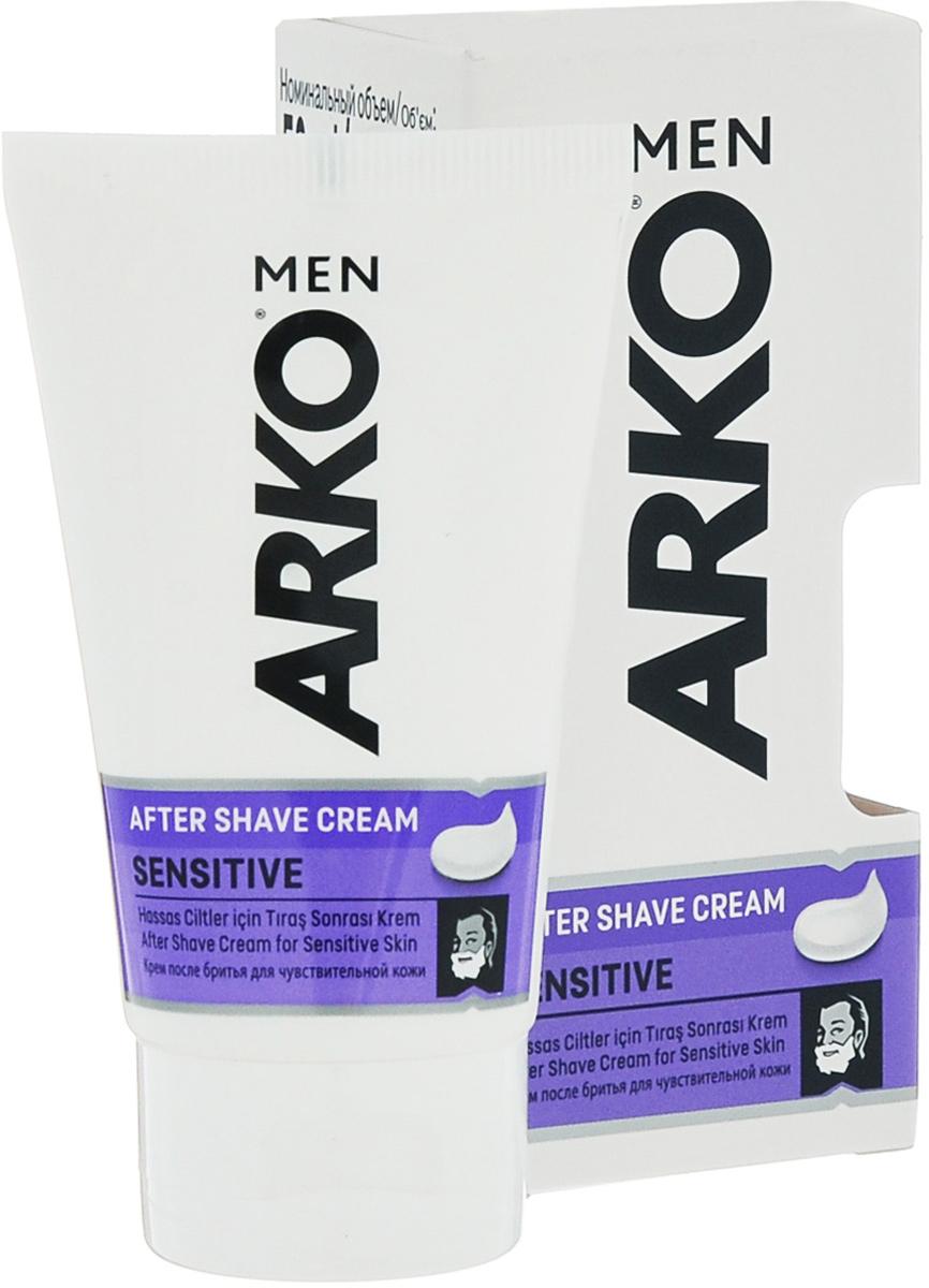 Arko MEN Крем после бритья Sensitive 50 мл800508295Защищает Вашу чувствительную кожу от эффекта сухости, вызванного бритьем и оставляет долгое ощущение комфорта.