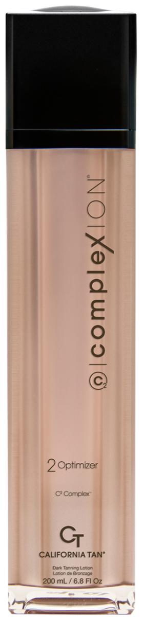 California Tan Крем для загара в солярии ComplexION Optimizer Step 2, 30 млCT1189Лосьон для загара в солярии с кислородным усилителем загара для темной кожи Шаг 2. Описание:Комплекс Time Release Bronzers и DHA, обеспечивают роскошный и оптимизированный бронзовый загар. C2 Complex™ - улучшает цвета лица, помогает усовершенствовать тон кожи, делая ее более эластичной. OxC Technology™ помогает омолодить клетки кожи и насыщает кожу кислородом, уменьшая морщины. CuO2® и TRF™ придают коже естественный золотистый оттенок загара. Побалуйте кожу комплексом Cashmere Extract для самого насыщенного и безупречного загара.
