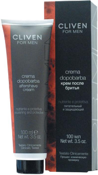 Cliven Крем после бритья 100мл7350Содержит особую комбинацию натуральных экстрактов ментола, камфары и мяты. Уменьшает раздражение и покраснение, вызванное бритьем. Быстро впитывается в кожу, не оставляя жирного блеска.