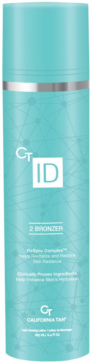 California Tan Крем для загара в солярии CT ID Natural Bronzer Step 2, 189 мл крем для загара