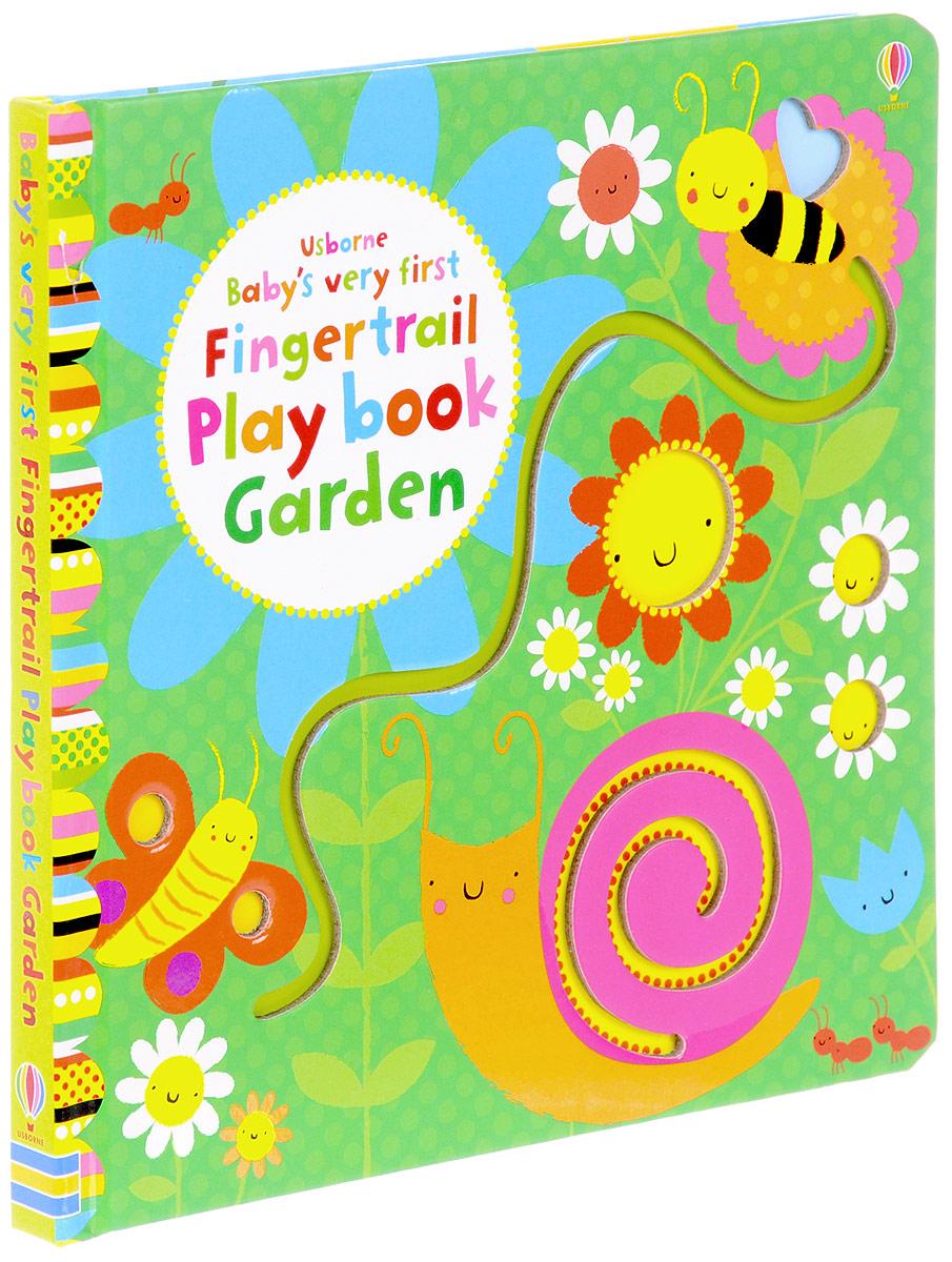 Baby's Very First: Fingertrails Play Book Garden peep inside the garden