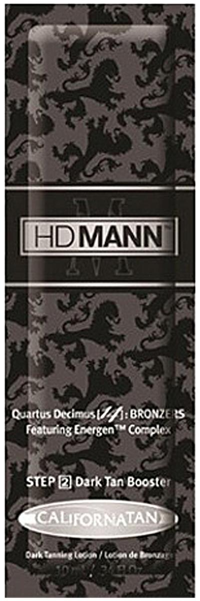 California Tan Крем для загара в солярии HD Mann Bronzer Step 2, 15 млCT1150Крем для загара для мужчин. Содержит бронзатор двойного действия. Шаг 2.Описание:Продукт разработан специально для мужской кожи. Бронзатор двойного действия дает мгновенный результат, придает загару насыщенный оттенок. Сок листьев Алоэ вера увлажняет и смягчает кожу, обогащает ее витаминами. Витамин Е является мощным антиоксидантом. Тирозин активизирует процесс образования загара. Является мощным антиоксидантом.