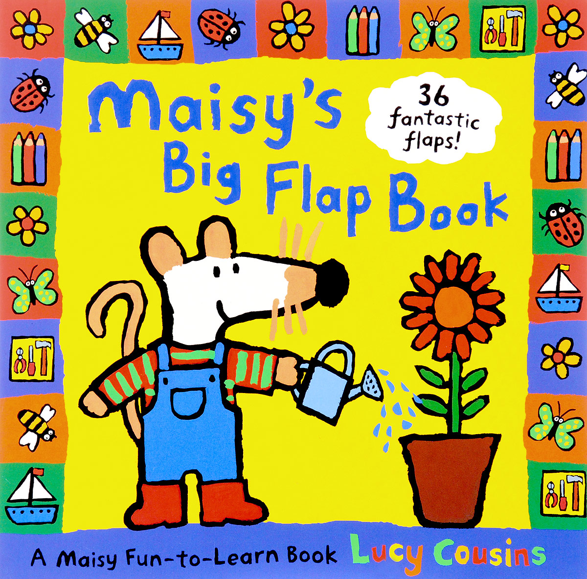 Maisy's Big Flap Book maisy s tractor