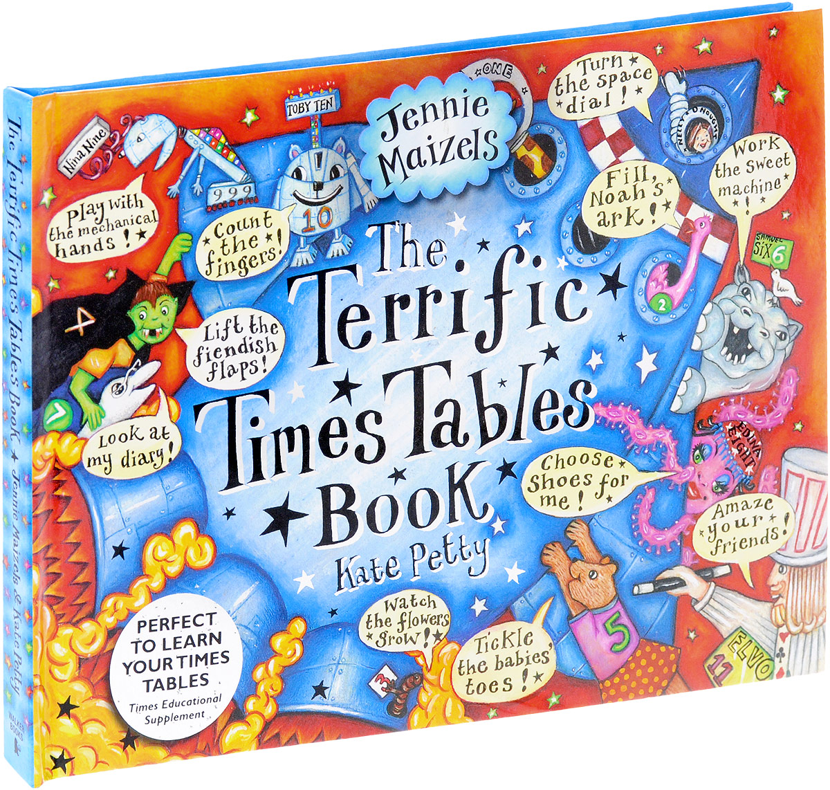 The Terrific Times Tables Book supermarket gremlins lift the flaps book