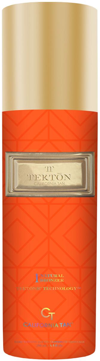 California Tan Крем для загара в солярии Tekton Natural Bronzer Step 1, 250 млCT0181Крем-усилитель загара с натуральными бронзаторами. Отлично подходит для всех типов кожи. Шаг 1. Описание: Содержит натуральные бронзаторы. В результате применения придает загару красивый оттенок. Экстракт какао помогает сохранить эластичность и упругость кожи. Витамин A является мощным антиоксидантом.