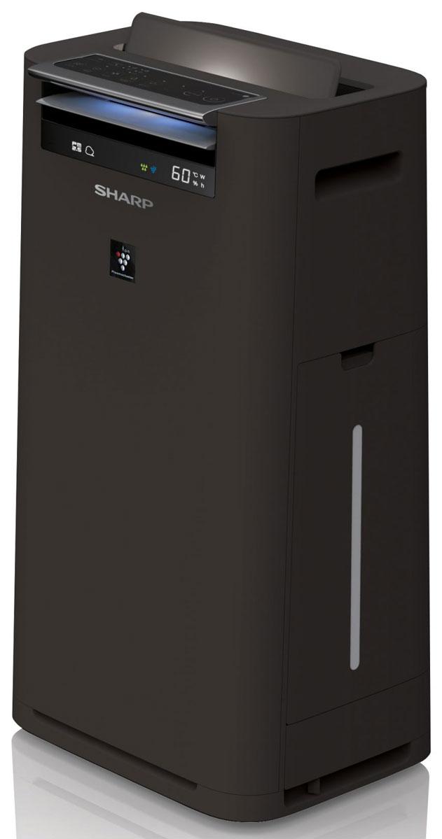Sharp KCG41RH очиститель воздухаКТ-00018Sharp KCG41RH, выполненный в черном корпусе. Этот климатический комплекс способен очистить воздух и наладить благоприятный уровень влажности в помещении площадью до 28 2. Sharp KCG41RH оптимально подойдет для жилых комнат в городских квартирах, загородных домах, а также для небольших офисных кабинетов.Умный режим с датчиками пыли, запаха, температуры и влажностиКомпания Sharp постоянно работает над усовершенствованием своей продукции: разрабатывает инновационные решения и внедряет передовые технологии. Продукция компании Sharp получила высокие оценки потребителей, она востребована на рынке - климатические комплексы Sharp стали одними из самых часто покупаемых приборов для очистки воздуха.Климатические комплексы Sharp серии KCG выполняют комплексную очистку воздуха, а также призваны восполнить недостаток влажности в помещении. Для эффективной работы очиститель оснащен встроенными высокочувствительными сенсорами, которые реагируют на пыль, запах, температуру и влажность. Основываясь на полученные данные, прибор принимает решение об интенсивности процесса очистки или активизирует работу системы увлажнения. Информация о ходе очистки воздуха отображается на многоступенчатом цветовом индикаторе.Сменные фильтры рассчитаны на длительный срок эксплуатации (до 10 лет) и способны надежно удерживать все виды бытовых аллергенов, а также поглощают табачный дым и посторонние запахи. Правильный баланс влажности (40-60%) достигается благодаря традиционному принципу увлажнения (холодное испарение). Данный принцип обеспечивает бережное естественное увлажнение воздуха без эффекта перенасыщения воздуха влагой и появления осадков на мебели и растениях.Система Plasmacluster - направленные ионыСистема Plasmacluster представляет собой уникальную технологию ионизации воздуха. Прибор генерирует отрицательно и положительно заряженные ионы, добиваясь идеального баланса как в природных условиях. Обычная ионизация предполагает хаотичный порядок распределени