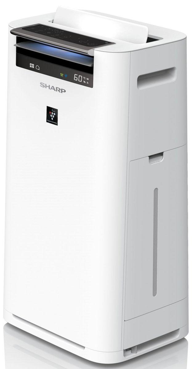 Sharp KCG41RW очиститель воздухаКТ-00019Высокоэффективный True HEPA фильтр задерживает до 99,97% всех типичных аллергенов, таких как частицы пыли, пыльца, частицы шерсти животных и дым. Размер частиц аллергенов, производимых животными, а также молекул сигаретного дыма, как правило, меньше 1 микрона. Система фильтрации воздуха True HEPA позволяет задерживать самые мельчайшие частицы вредоносных веществ размером до 0,3 микрона, что не под силу обычным фильтрам.