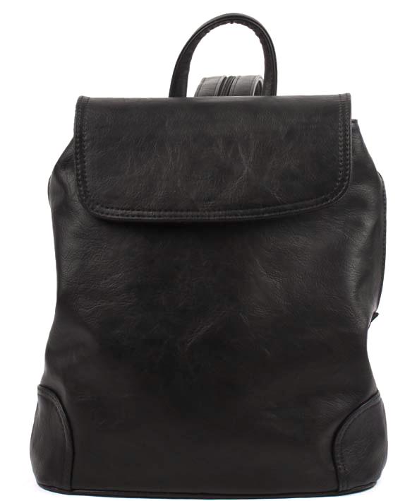 Сумка-рюкзак женская Медведково, цвет: черный. 17с4276-к14 - Сумки