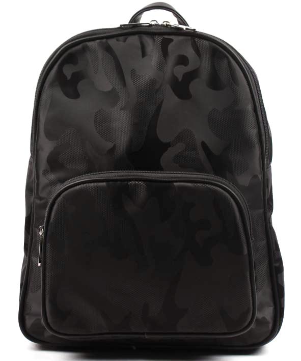Рюкзак женский Медведково, цвет: черный. 17с6002-к14