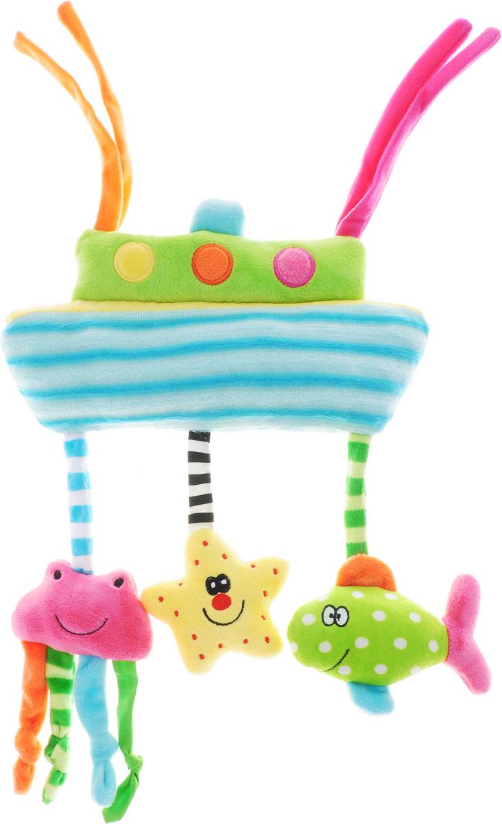 Happy Snail Игрушка-подвеска Морские приключения игрушки подвески happy snail игрушка подвес пчёлка жу жу