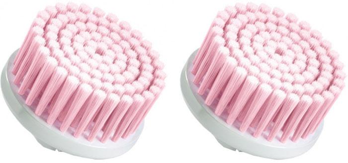 Braun Face SE80s, White Pink сменная насадка щеточка для чувствительной кожи (2 шт.) braun 7681 se