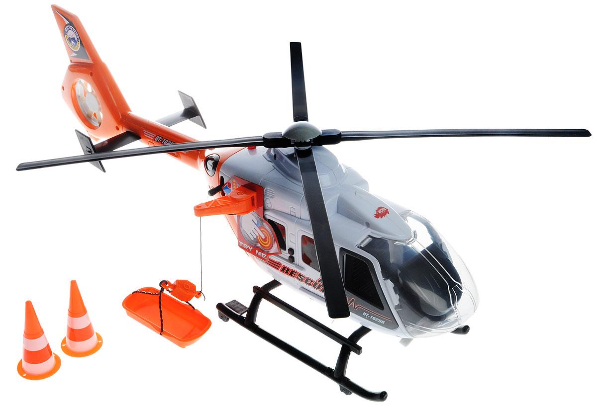 Dickie Toys Вертолет цвет оранжевый - Транспорт, машинки