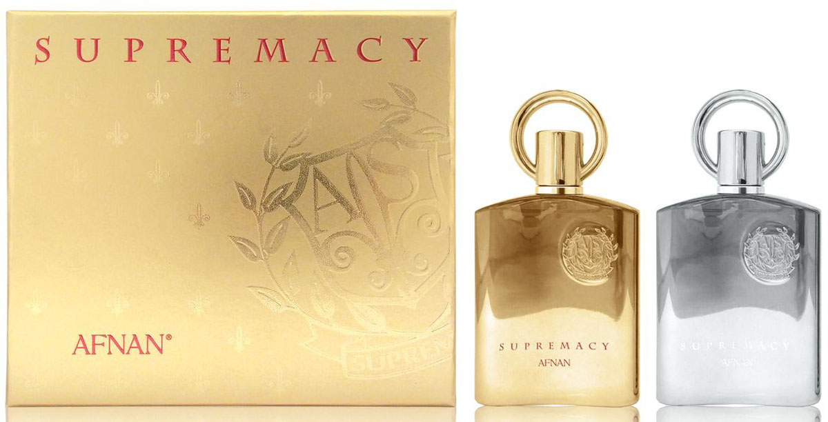 Afnan Парфюмерный Набор Supremacy Gift Set (Supremacy Pour Femme, 100 мл + Supremacy Pour Homme, 100 мл)