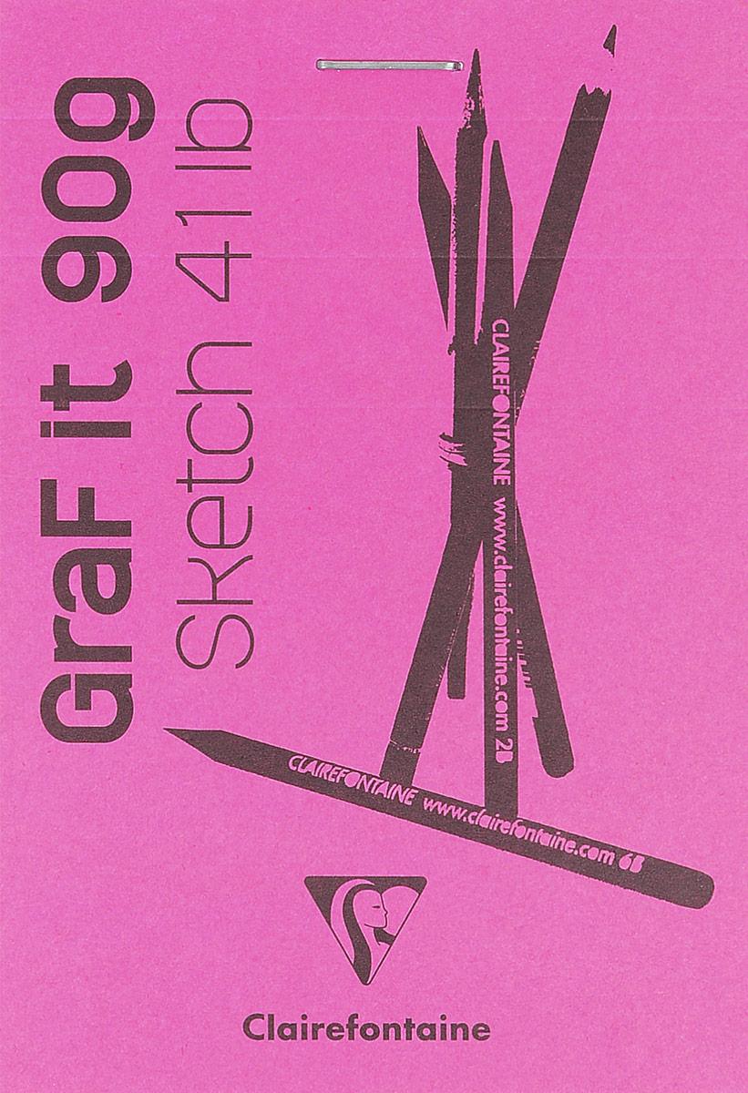 Блокнот Clairefontaine Graf It, для сухих техник, с перфорацией, цвет: розовый, формат A7, 80 листов96629С_розовыйОригинальный блокнот Clairefontaine Graf It идеально подойдет для памятных записей, любимых стихов, рисунков и многого другого. Плотнаяобложка предохраняет листы от порчи и замятия.Блокнот формата А7 содержит 80 листов, чего хватит на долгое время.Такой блокнот станет забавным и практичным подарком - он не затеряется среди бумаг, и долгое время будет вызывать улыбку окружающих.