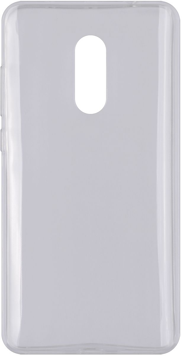 Interstep Is Slender чехол для Xiaomi RedMi Note 4, Transparent наушники внутриканальные interstep bwhite red is hf bwhitered 000b203
