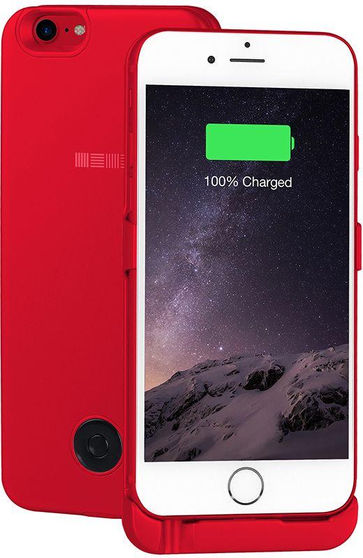 Interstep чехол-аккумулятор для Apple iPhone 7/6, Red (3000 мАч)IS-AK-PCIP76ARD-REDB201Стильный ультратонкий чехол-аккумулятор серии RED.Тонкий корпус стенки из металла всего 8мм.Встроенный аккумулятор 3000 мач polymer, это +125% заряда смартфона.Вход питания клипа 8 pin (идентичен входу питания смартфона).Поддержка сквозного заряда - заряжает iphone, когда заряжается сам чехол-аккумулятор.(поставив на ночь на зарядку - с утра оба устройства будут заряжены).