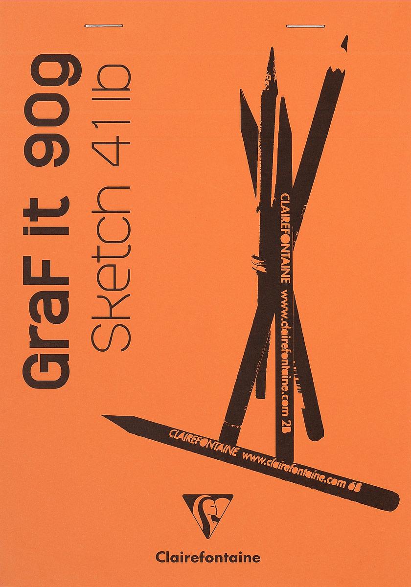 Блокнот Clairefontaine Graf It, для сухих техник, с перфорацией, цвет: оранжевый, формат A5, 80 листов96621С_оранжевыйОригинальный блокнот Clairefontaine Graf It идеально подойдет для памятных записей, любимых стихов, рисунков и многого другого. Плотная обложка предохраняет листы от порчи и замятия. Блокнот формата А5 содержит 80 листов, чего хватит на долгое время.Такой блокнот станет забавным и практичным подарком - он не затеряется среди бумаг, и долгое время будет вызывать улыбку окружающих.