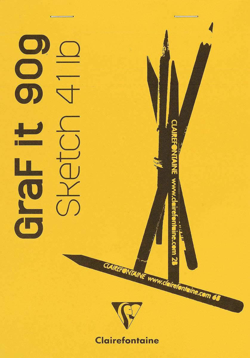 Блокнот Clairefontaine Graf It, для сухих техник, с перфорацией, цвет: желтый, формат A5, 80 листов96621С_желтыйОригинальный блокнот Clairefontaine Graf It идеально подойдет для памятных записей, любимых стихов, рисунков и многого другого. Плотная обложка предохраняет листы от порчи и замятия. Блокнот формата А5 содержит 80 листов, чего хватит на долгое время.Такой блокнот станет забавным и практичным подарком - он не затеряется среди бумаг, и долгое время будет вызывать улыбку окружающих.