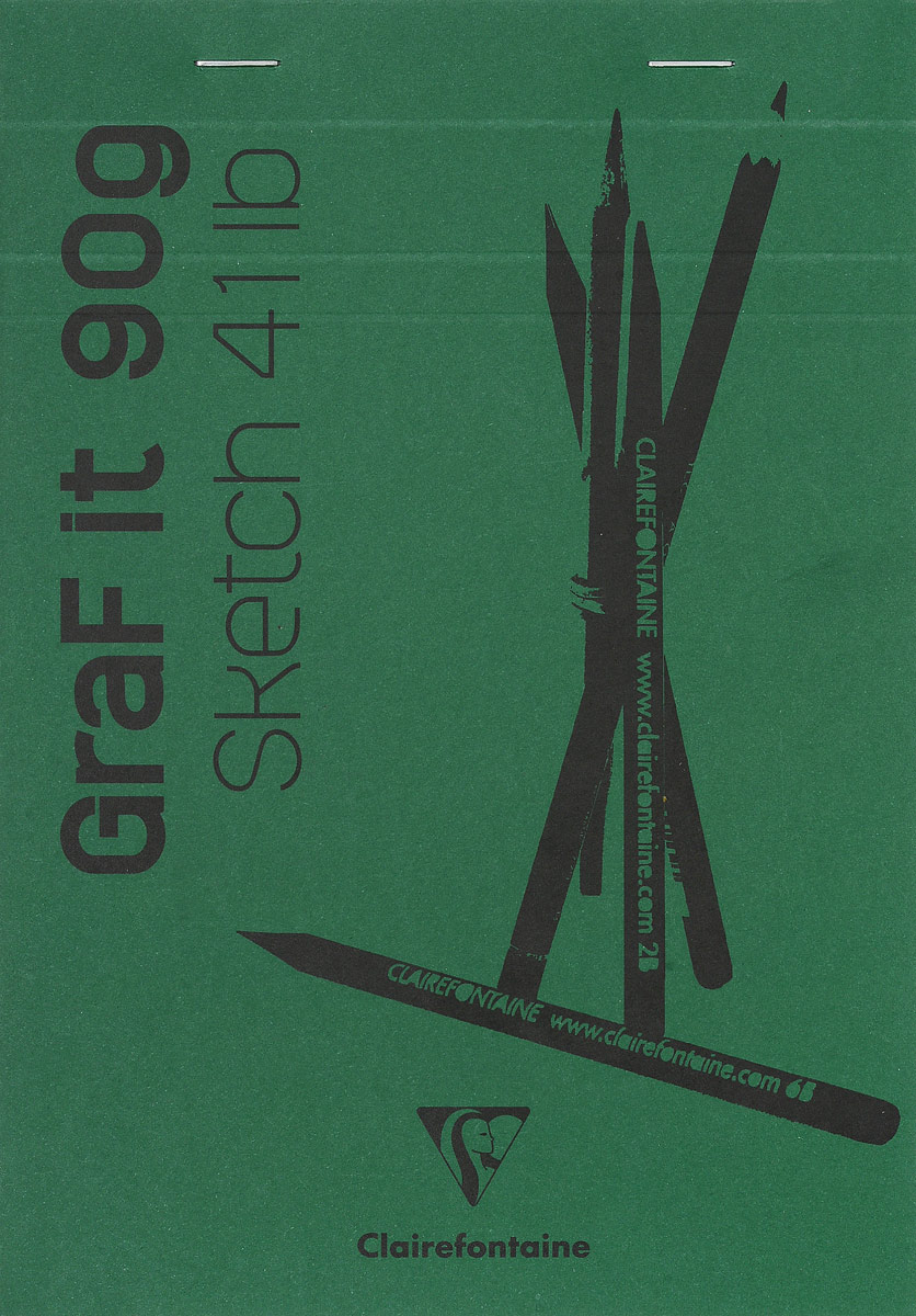 Блокнот Clairefontaine Graf It, для сухих техник, с перфорацией, цвет: зеленый, формат A5, 80 листов96621С_зеленыйОригинальный блокнот Clairefontaine Graf It идеально подойдет для памятных записей, любимых стихов, рисунков и многого другого. Плотная обложка предохраняет листы от порчи и замятия. Блокнот формата А5 содержит 80 листов, чего хватит на долгое время.Такой блокнот станет забавным и практичным подарком - он не затеряется среди бумаг, и долгое время будет вызывать улыбку окружающих.