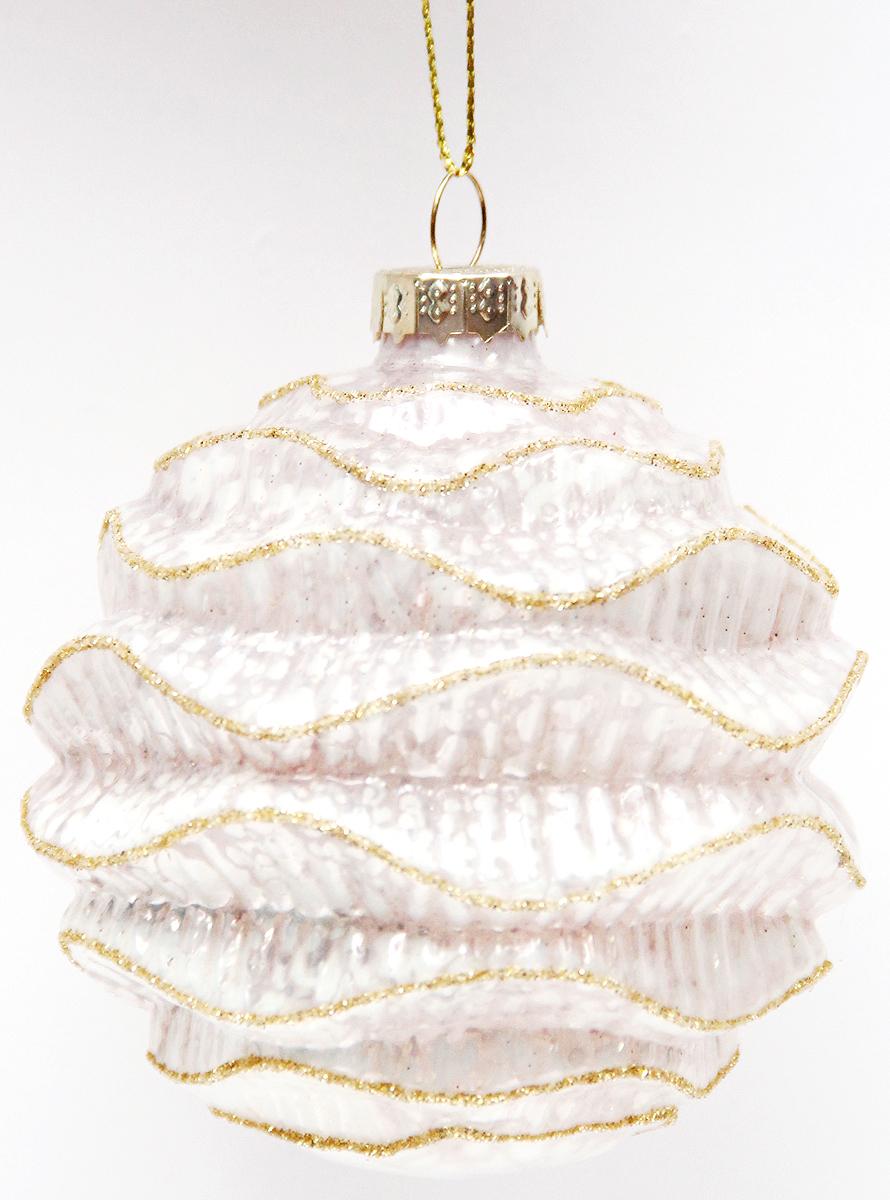 Новогоднее подвесное украшение Magic Time Шар. Волшебное шампанское, диаметр 8 см42332Новогоднее украшение Magic Time, выполненное из стекла, отлично подойдет для декорации вашего дома и новогодней ели. С помощью специальной петельки украшение можно повесить в любом понравившемся вам месте. Но, конечно, удачнее всего оно будет смотреться на праздничной елке.Елочная игрушка - символ Нового года. Она несет в себе волшебство и красоту праздника. Такое украшение создаст в вашем доме атмосферу праздника, веселья и радости.