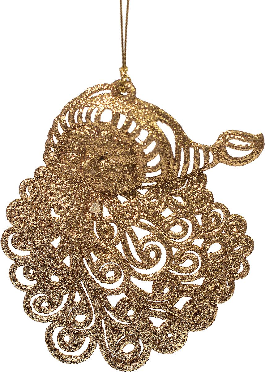 Новогоднее подвесное украшение Magic Time Санта, цвет: золотой75081Новогоднее украшение Magic Time, выполненное из полипропилена, отлично подойдет для декорации вашего дома и новогодней ели. С помощью специальной петельки украшение можно повесить в любом понравившемся вам месте. Но, конечно, удачнее всего оно будет смотреться на праздничной елке.Елочная игрушка - символ Нового года. Она несет в себе волшебство и красоту праздника. Такое украшение создаст в вашем доме атмосферу праздника, веселья и радости.