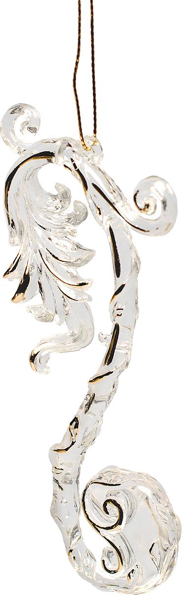 Новогоднее подвесное украшение Magic Time Мелодия75964Новогоднее украшение Magic Time, выполненное из полистирола, отлично подойдет для декорации вашего дома и новогодней ели. С помощью специальной петельки украшение можно повесить в любом понравившемся вам месте. Но, конечно, удачнее всего оно будет смотреться на праздничной елке.Елочная игрушка - символ Нового года. Она несет в себе волшебство и красоту праздника. Такое украшение создаст в вашем доме атмосферу праздника, веселья и радости.