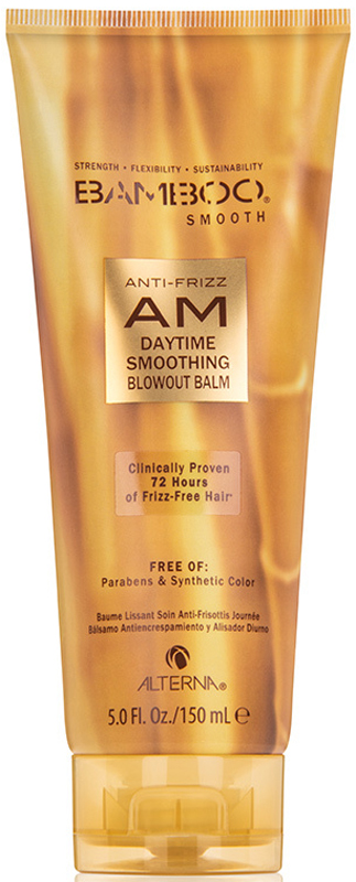 Alterna Bamboo Smooth Anti-Frizz AM Daytime Smoothig Blowout Balm Дневной полирующий бальзам, 150 мл кондиционер alterna alterna al009lwfvw17