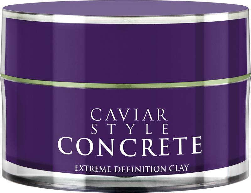 Alterna Caviar Style Concrete Extreme Definition Clay Дефинирующая глина для экстра-сильной фиксации, 52 мл alterna эликсир быстрый рост волос caviar repair rx lengthening hair and scalp elixir 50 мл