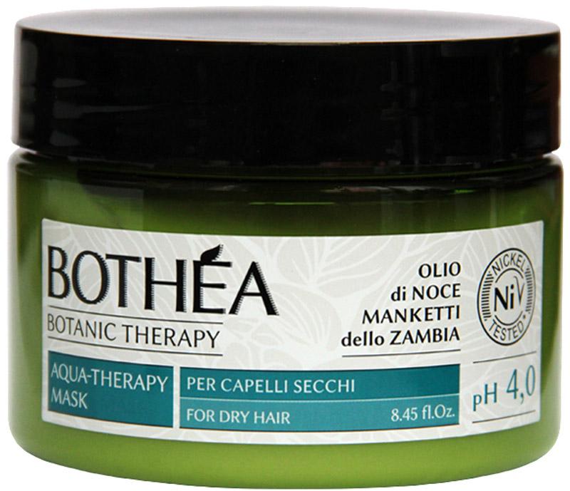 Bothea Aqua-Therapy Mask Per Capelli Secchi pH 4.0 Увлажняющая маска для сухих волос, 250 млBT00013Интенсивно увлажняет и распутывает сухие волосы, делая их сразу заметно более мягкие и светлые. Богатые Омега-6, способствует обновлению клеток и обеспечивает увлажняющие свойства. Благодаря высокому содержанию Витамина е, обладает превосходными антиоксидантными свойствами, позволяет сохранить гидролипидной мантии. Облегчает расчесывание волос благодаря силе кондиционирует и придает едва уловимое сияние.