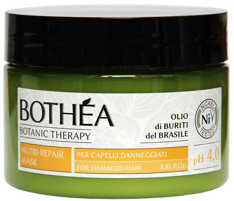 Bothea Nutri-Repair Mask Per Capelli Danneggiati pH 4.0 Маска для поврежденных волос, 250 млBT00017Глубоко питает и реструктурирует поврежденные волосы, распутывает и делает их мягкими и блестящими.