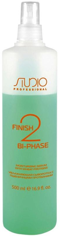 Kapous Professional Finish Bi-phase Сыворотка с пшеничными протеинами, 500 мл3513Увлажняющая сыворотка с пшеничными протеинами предназначена для ухода за ломкими и безжизненными волосами. Активная формула увлажняющей сыворотки Kapous обеспечивает интенсивное и глубокое увлажнение, а также защищает волосы от ежедневного стресса и воздействия агрессивных факторов внешней среды. Протеины пшеницы входящие в состав сыворотки предотвращают разрушение кератиновых спиралей, а также выравнивают структурные различия между корнями и кончиками волос. Благодаря молочной аминокислоте оказывается смягчающие воздействие, запускаются процессы обновления, регулируется баланс влаги кожи головы и волос, предотвращается скопление свободных радикалов. Волосам возвращается эластичность и здоровый внешний вид. Волосы защищены и легко расчесываются.