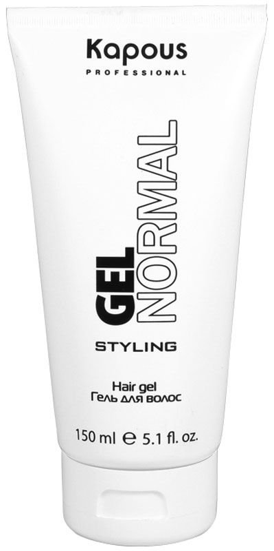Kapous Professional Gel Normal Гель для волос нормальной фиксации, 150 мл kapous professional мусс для укладки волос нормальной фиксации 400 мл
