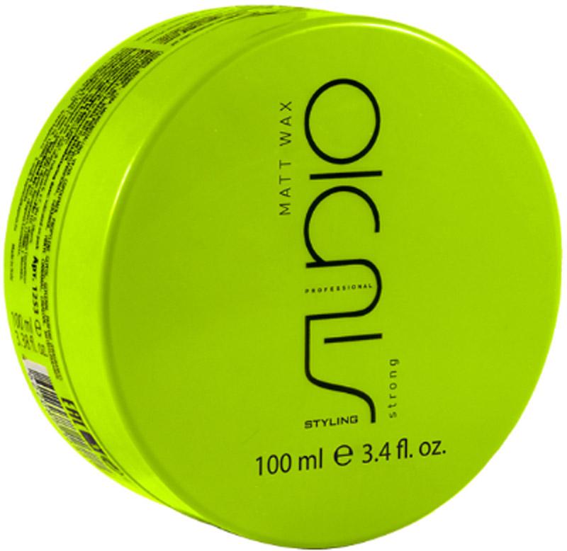 Kapous Professional Matt Wax Матовый воск для укладки волос сильной фиксации, 100 мл kapous professional мусс для укладки волос нормальной фиксации 400 мл