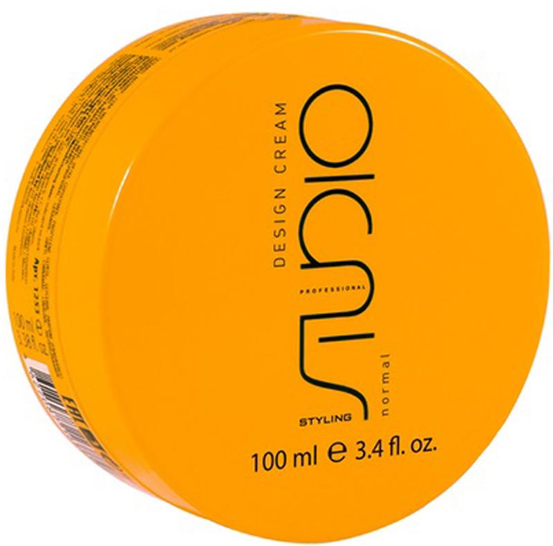 """Kapous Professional Design Cream Моделирующие сливки для укладки волос нормальной фиксации, 100 млkap1253Моделирующие сливки для укладки волос нормальной фиксации «Design Cream» серии """"Styling"""" линии Studio Kapous Professional"""