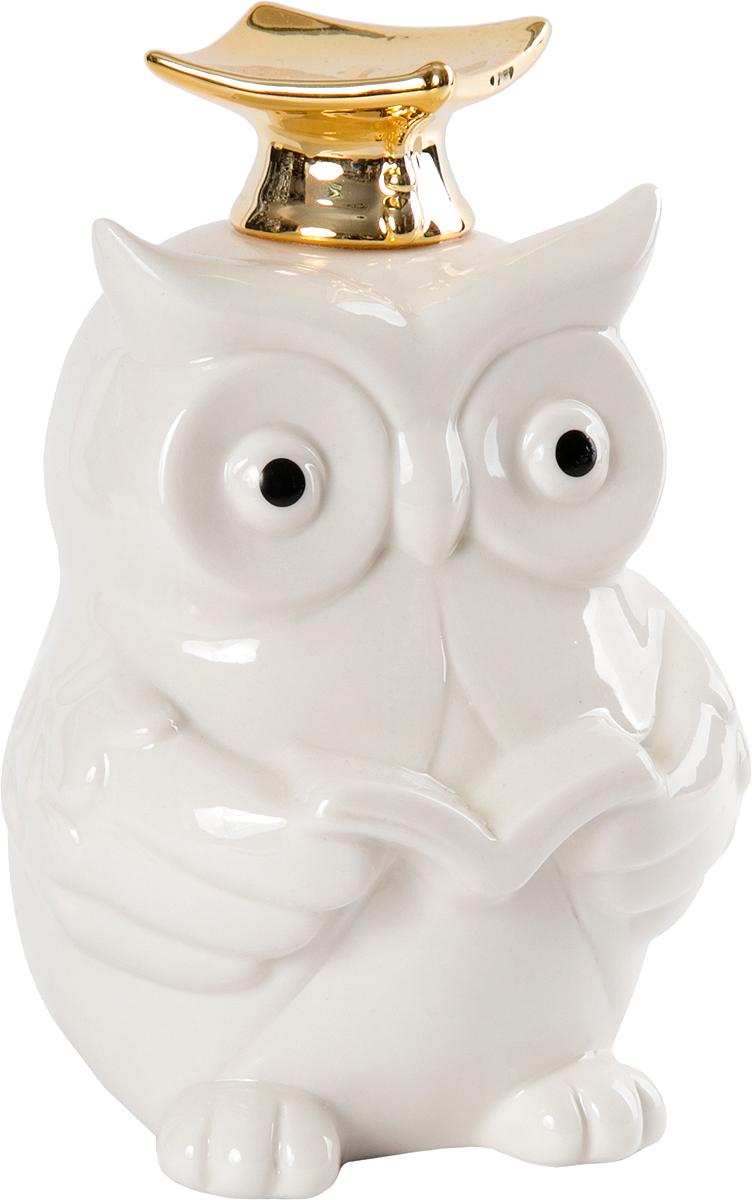 Фигурка декоративная Magic Home, цвет: белый, золотой, 11,5 х 10 х 16 см цена
