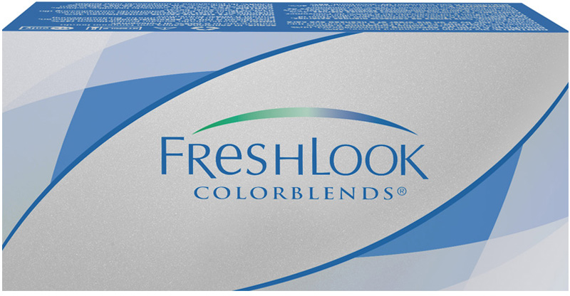 Аlcon контактные линзы FreshLook ColorBlends 2шт -2.00 Sterling Grey