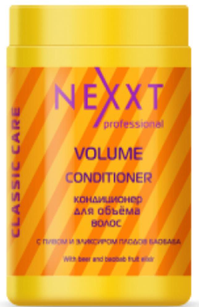 Кондиционер для объема волос Nexxt Professional, 1000 млCL211126С пивом и эликсиром плодов баобаба. Пивные дрожжи способствуют синтезу коллагенов и эластинов в волосе и содержат в своём составе витамин В, который укрепляет волосы, стимулирует их рост, делает локоны объёмными, питает кожу. Особенно эффективен для тонких и жидких волос. Эликсир плодов баобаба придает скелет объёму волос-наполняет волосы упругостью и силой. Пивные дрожжи для волос, заметно лечат и восстанавливают локоны, возвращая им объём на длительный срок. Также средства способствуют питанию и востановлению волос.