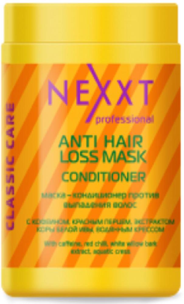 Маска-Кондиционер против выпадения волос Nexxt Professional, 1000 мл флюид nexxt professional hair skin color remover 125 мл