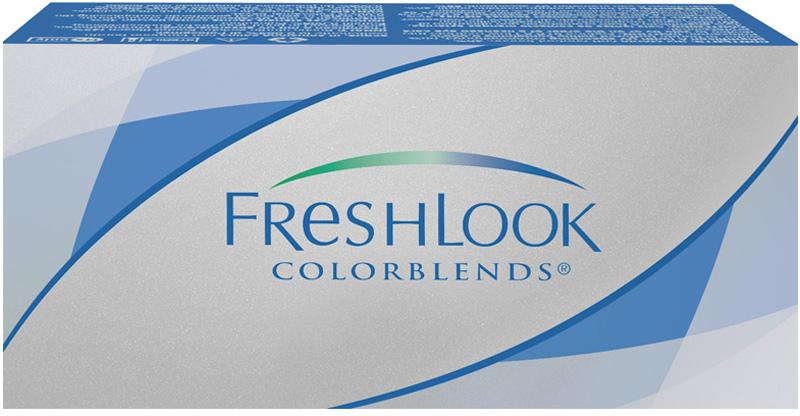Аlcon контактные линзы FreshLook ColorBlends 2шт -2.50 Brilliant Blue