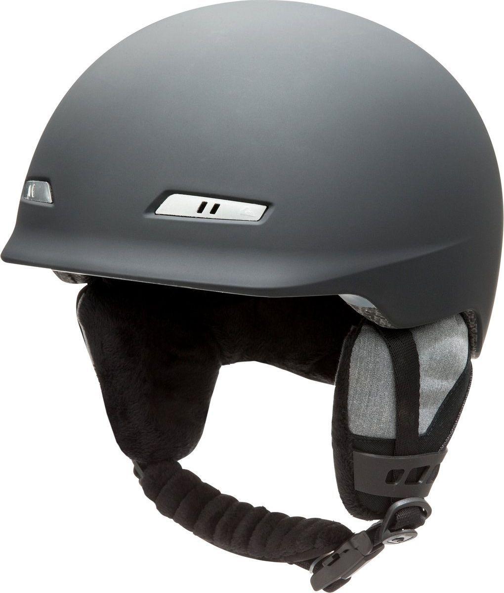 Шлем зимний мужской Quiksilver  EQYTL03017-KVJ0 , цвет: черный. Размер M - Горные лыжи