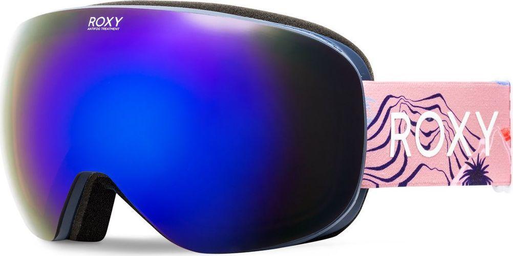 Маска горнолыжная женская Roxy ERJTG03035-NLK6, цвет: голубойERJTG03035-NLK6Линза: антифоговая обработка (не дает маске запотевать изнутри) и устойчивость к образованию царапин + сферическая двойная линза (поликарбонатная внешняя и хромированная внутренняя)Оправа: полиуретановаяКомфорт: пенный наполнитель двойной плотности и флисовая подкладкаФильтр: 3D-сеткаСтреп: стреп шириной 40 мм с двумя слайдерами для регулировки размераЗащита от УФ: 100%-ая защита от УФ излучения