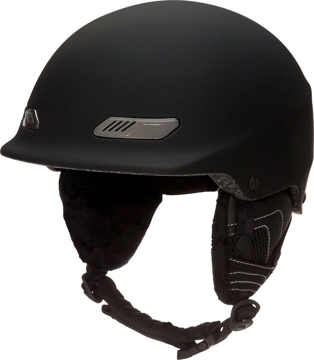 Шлем мужской Quiksilver, зимний, цвет: черный. EQYTL03018-KVJ9. Размер 58EQYTL03018-KVJ9Сноубордический шлем имеет сверхлегкую конструкцию из двойного микрошелла сверхлегкой литой конструкции. Безопасность обеспечивает ударопоглощающий пенный полимер EPS. Шлем дополнен вентиляционными отверстиями с металлической отделкой спереди. Подкладка изготовлена из сетки и флисовой шерпы. Имеются мягкие термоформованные съемные накладки на уши. Стреп на подбородок выполнен из мягкой шерпы.Что взять с собой на горнолыжную прогулку: рассказывают эксперты. Статья OZON Гид