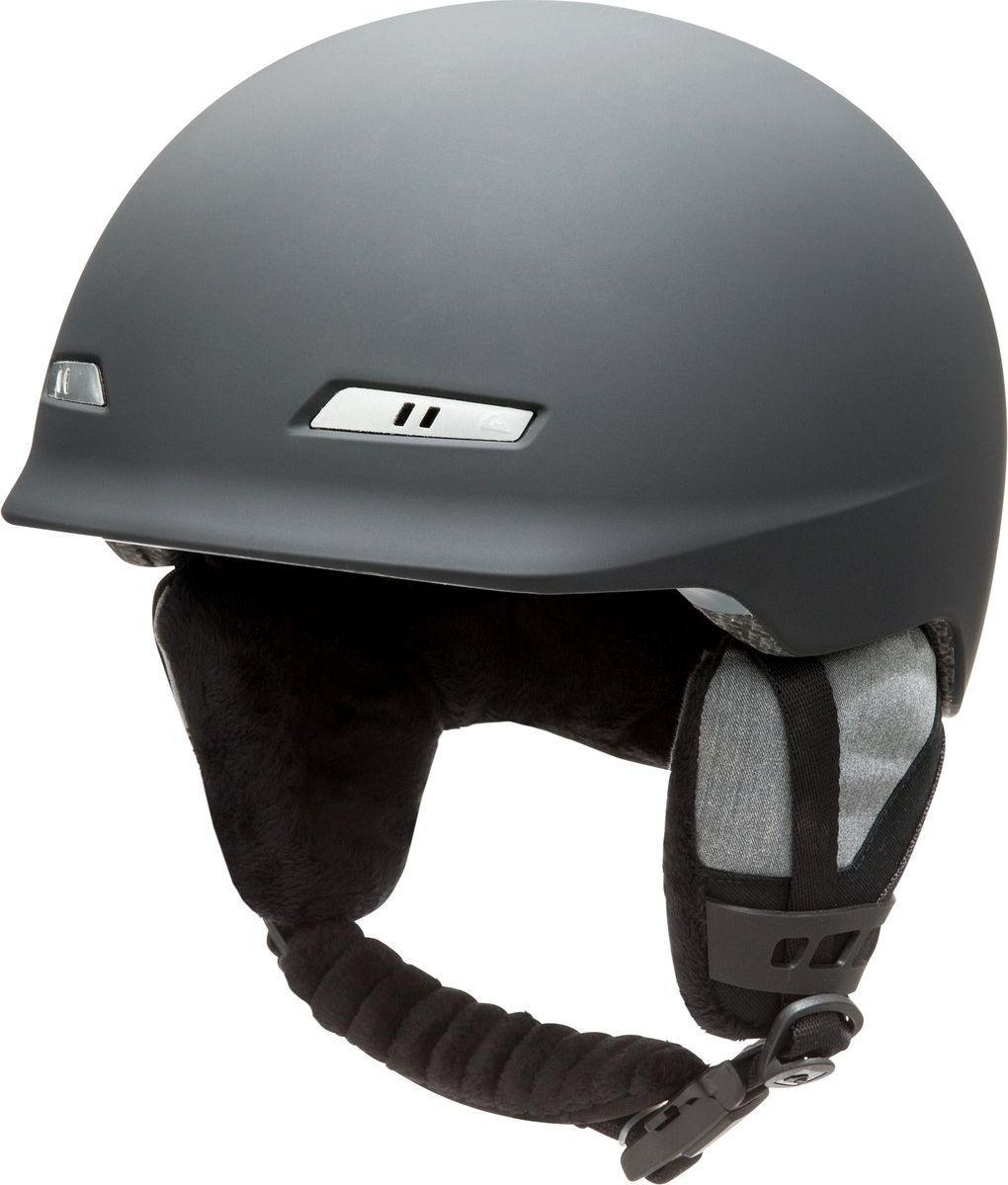 Шлем мужской Quiksilver, зимний, цвет: черный. EQYTL03017-KVJ0. Размер LEQYTL03017-KVJ0Сноубордический шлем имеет сверхлегкую конструкцию из двойного микрошелла сверхлегкой литой конструкции. Безопасность обеспечивает ударопоглощающий пенный полимер EPS. Шлем дополнен пассивной вентиляцией спереди и сзади. Подкладка изготовлена из сетки и флисовой шерпы. Имеются мягкие термоформованные съемные накладки на уши, система регулировки размера и воротник-гейтер. Стреп на подбородок выполнен из мягкой шерпы и оснащен застежкой системы Fidlock.Что взять с собой на горнолыжную прогулку: рассказывают эксперты. Статья OZON Гид