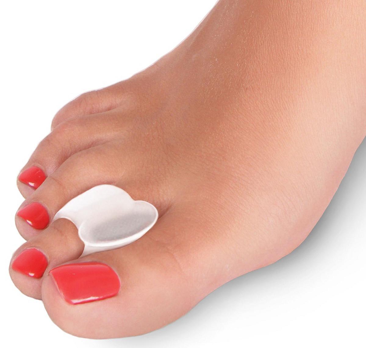 Luomma Силиконовая межпальцевая перегородка с фиксирующим кольцом Lum802. Размер 1 альфапластик дельфин р 38 40